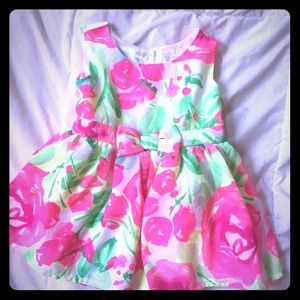 NWOT Floral Dress 12-18 Months Baby Toddler